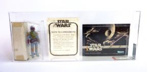 Star Wars Boba Fett Mailer Set AFA 70